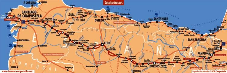 Espagne - Chemins de Compostelle
