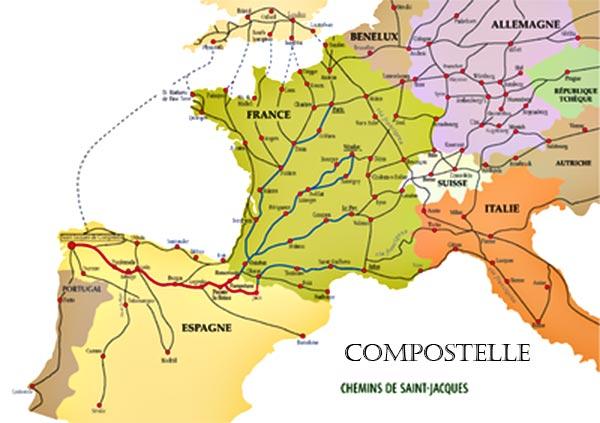 Chemin de Compostelle Espagne-France