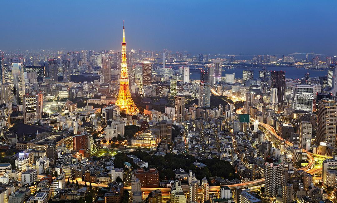 Tokyo - Photo de nuit