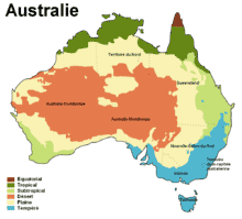 Australie - carte