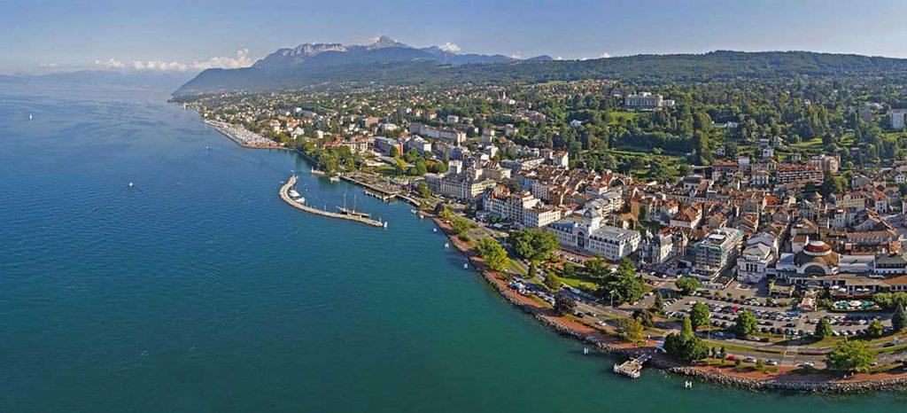 Séjour Evian les bains - Photo panoramique
