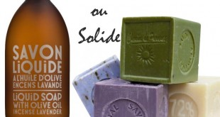 Savon Liquide - Savon Solide