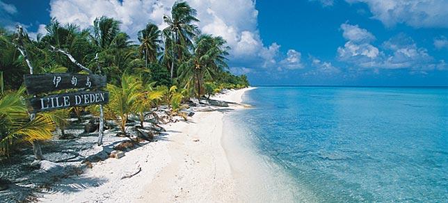 Polynésie française - Circuit