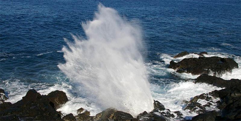 Le souffleur - île maurice
