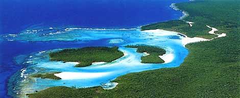 Baie île des pins