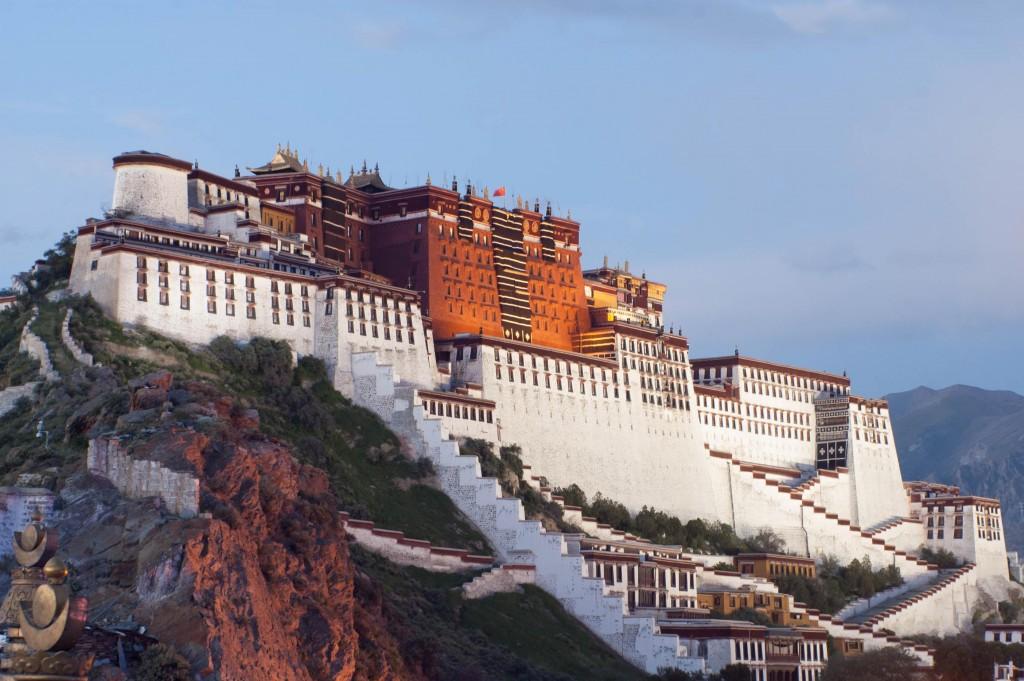 Potala - Palace au Tibet