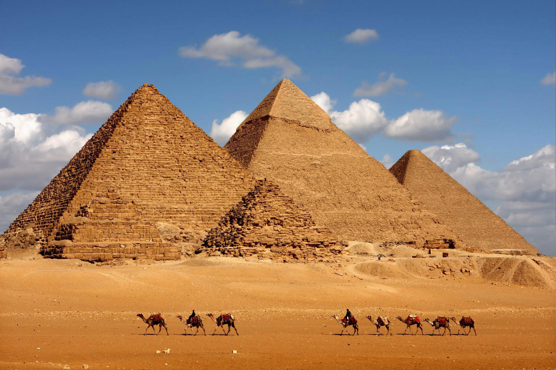 Pyramide de Louxor en Egypte