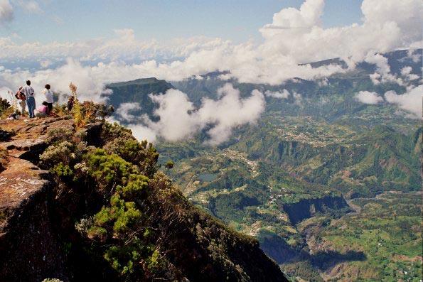 La roche écrite à la Réunion