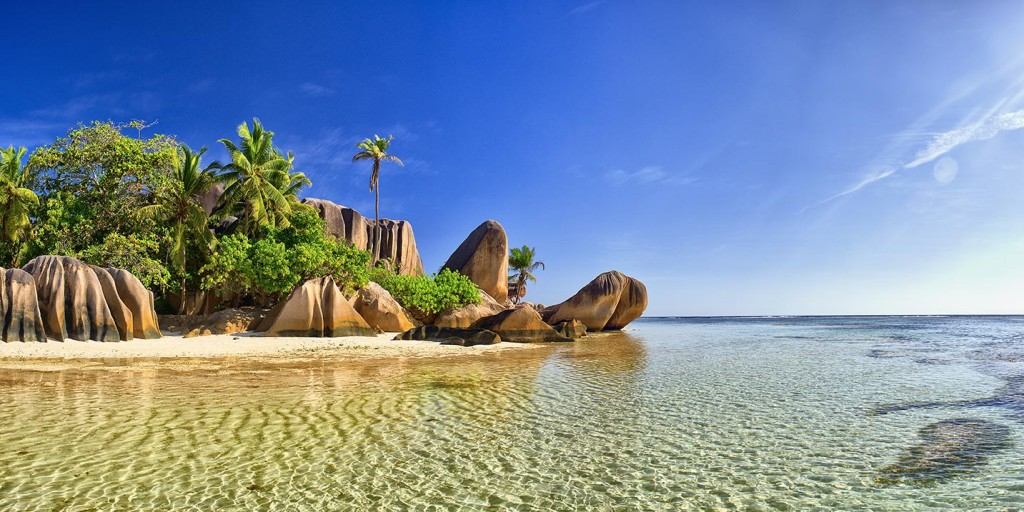 The Seychelles - beautiful beaches