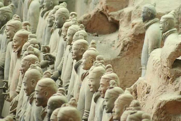 Statuts Terre Cuite des Soldats de Xian