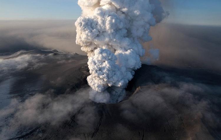 Volcan islandais Eyjafjallajokull
