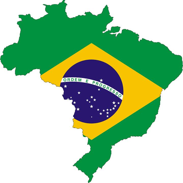 Brésil - Drapeau