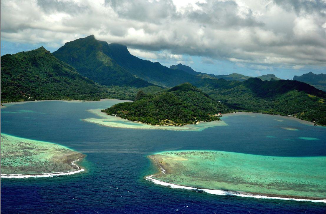 Paysage des îles Marquises