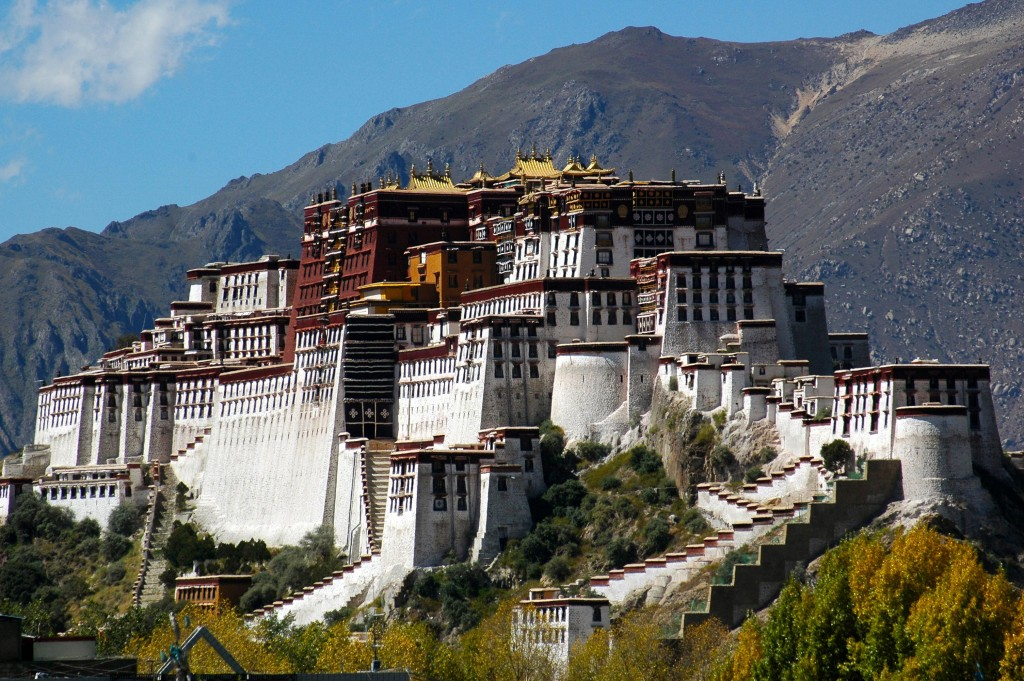 Potola - tibet Lhasa