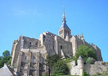 Normandie - Le Mont-Saint-Michel - Abbaye
