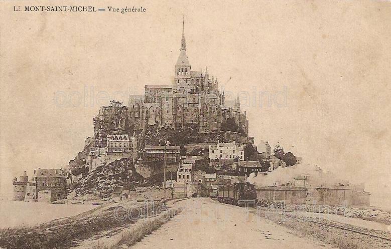 Mont-St Michel carte postale
