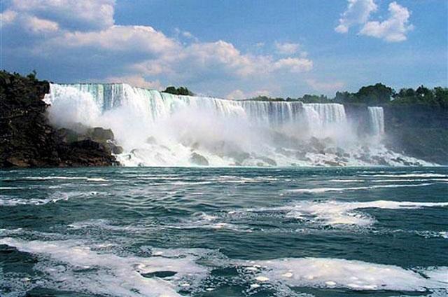 Chutes du Niagara entre USA et Canada