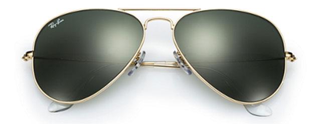 lunettes de soleil ray ban modèle aviator