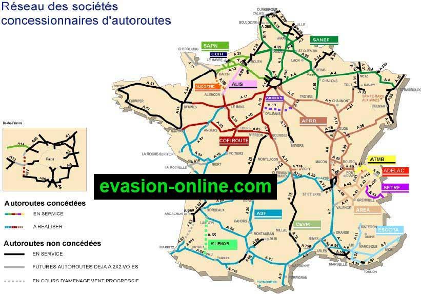 Autoroutes de France et d'Europe