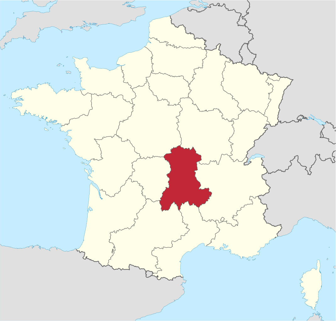 Auvergne en France