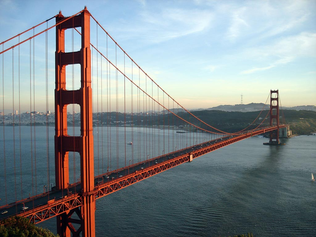 Golden Gate Bridge - USA - SanFrancisco