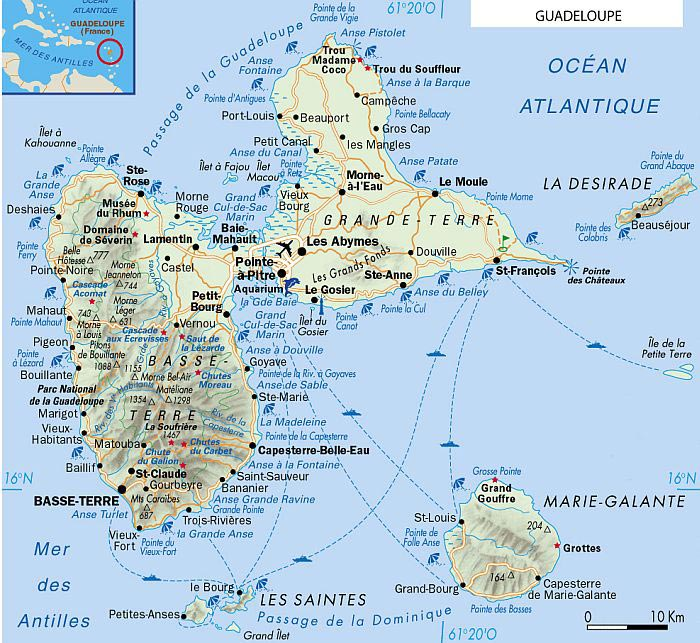 Guadeloupe - Guide Voyage