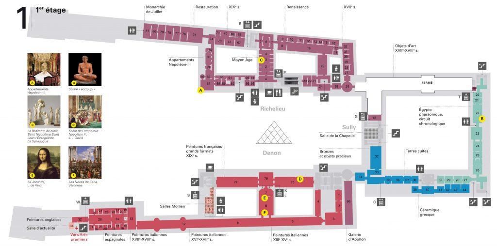 Louvre-plan