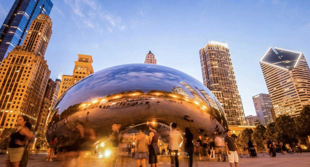 Millennium-park - Cloud-Gate - Chicago