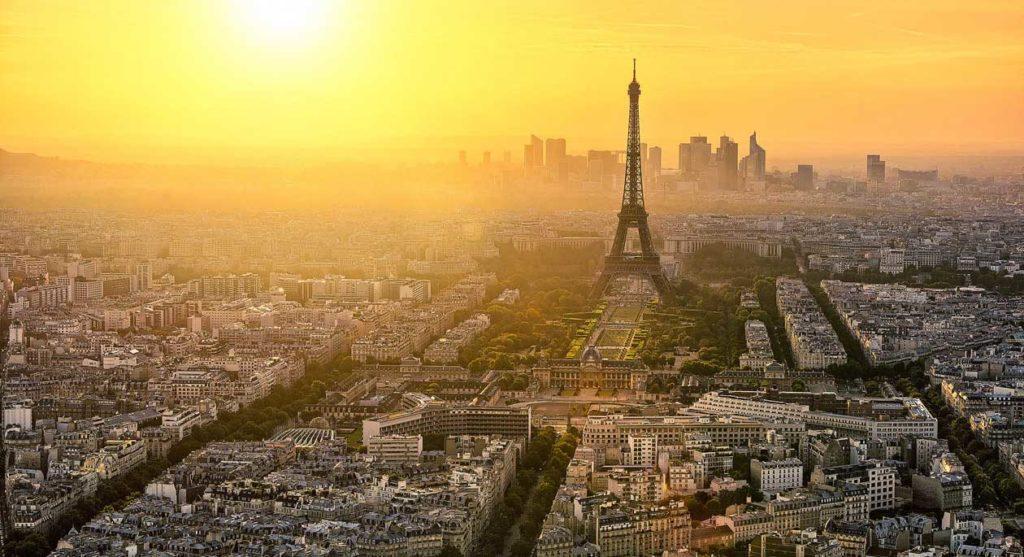 Photo panoramique de Paris