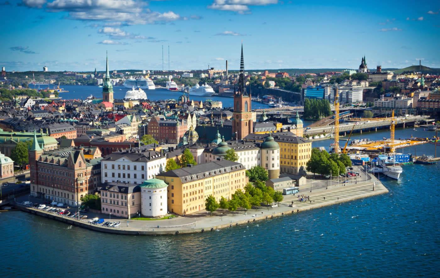 Centre Ville Stockholm - Suède - Europe