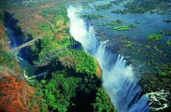 Victoria Falls- les Chutes du Zimbabwe