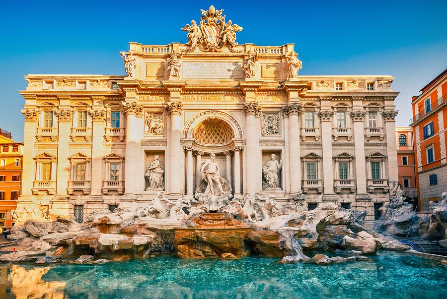Fontaine de Trevi à Rome