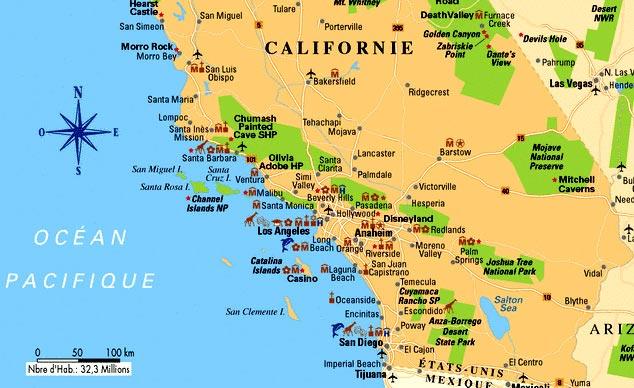 californie du sud