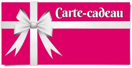 La carte-cadeau à offrir