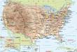 Carte Etats Unis
