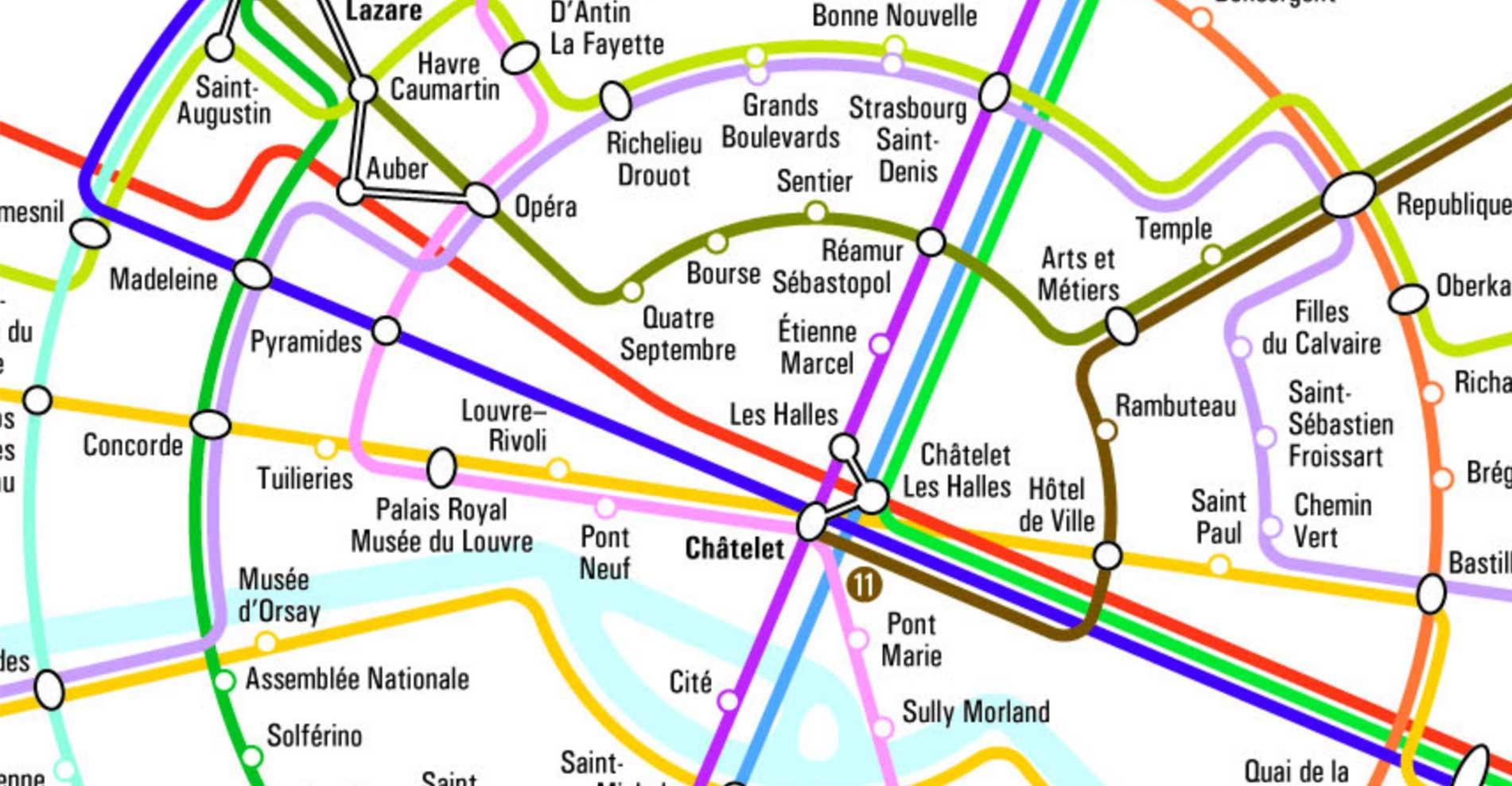 Carte de Paris » Vacances - Arts- Guides Voyages