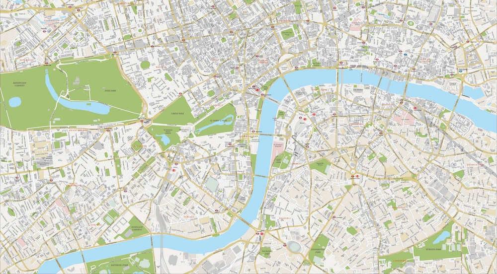 Londres carte