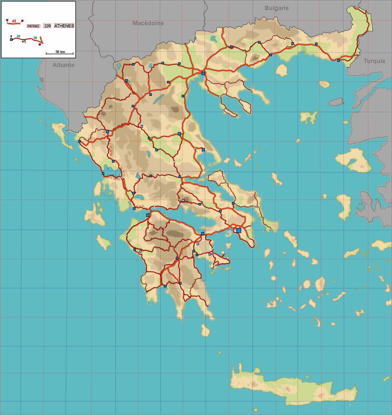 Gr ce carte et plan vacances arts guides voyages - La carte de l empire ottoman ...