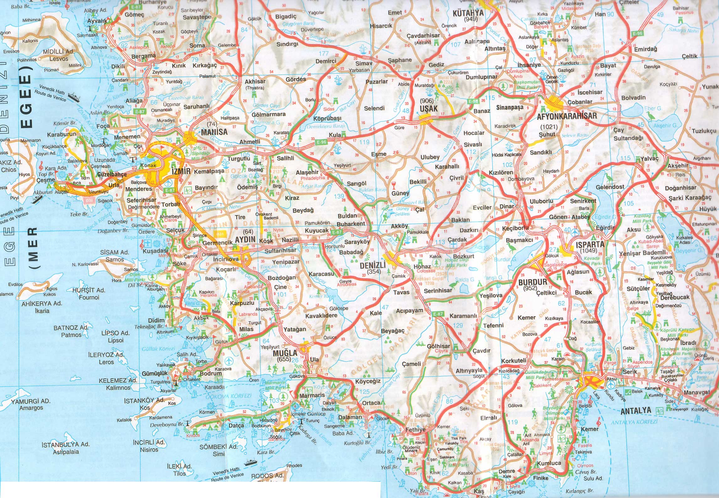 Carte de France » Vacances - Arts- Guides Voyages