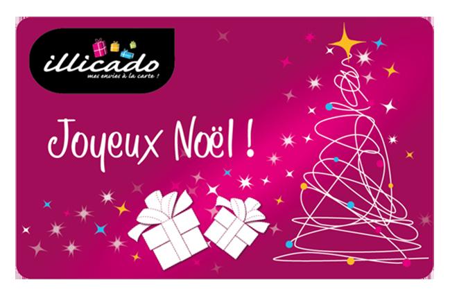 carte cadeau pour noel