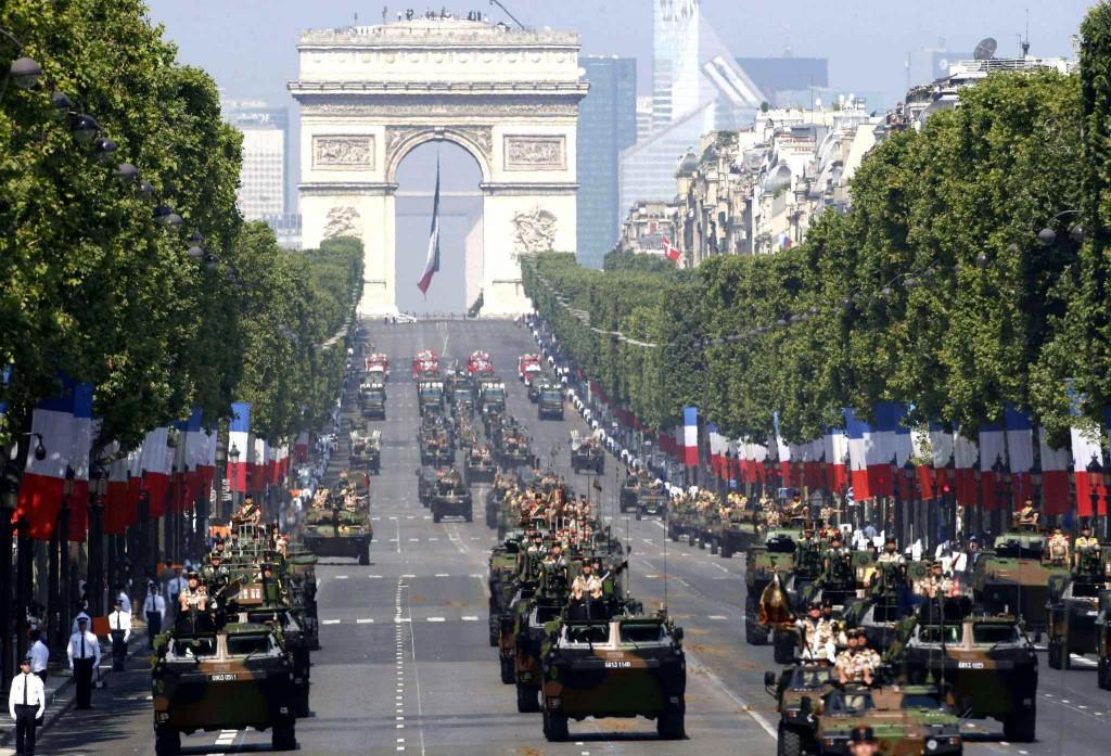 Traditionnel Défilé du 14 Juillet à Paris