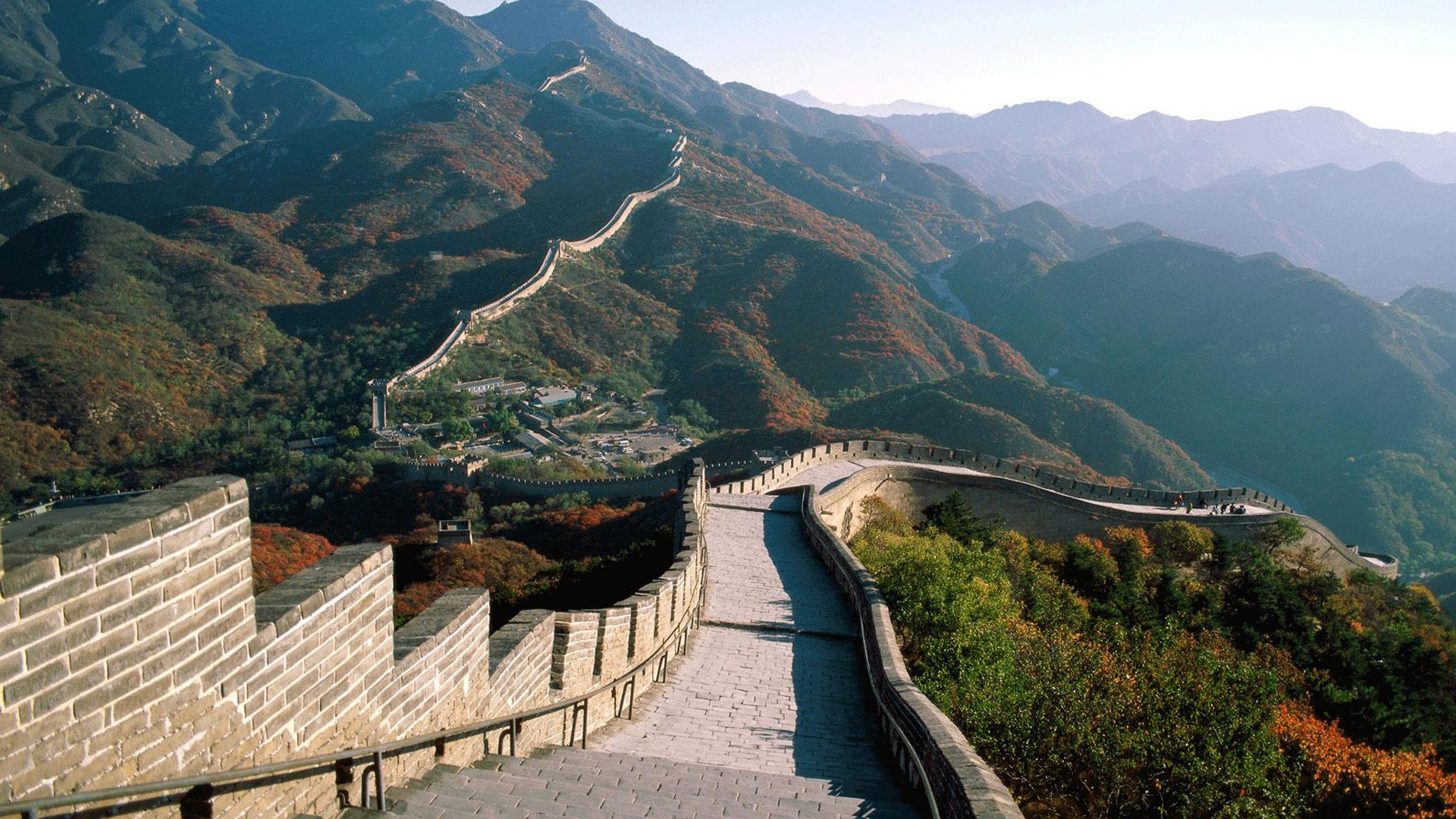 Photo de la grande muraille de Chine