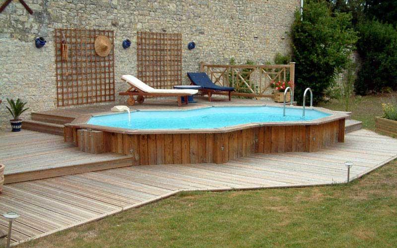 piscine bois images vacances arts guides voyages. Black Bedroom Furniture Sets. Home Design Ideas