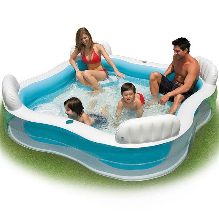 Piscine gonflable photos et images vacances arts for Intex piscine gonflable