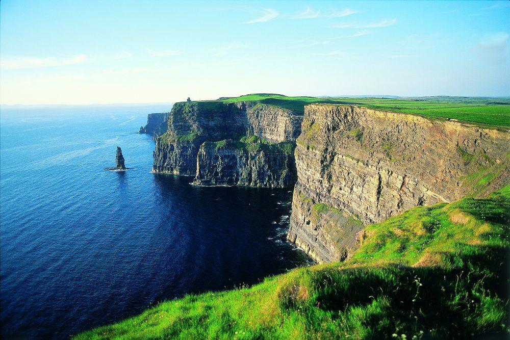 irlande image de la falaise burren