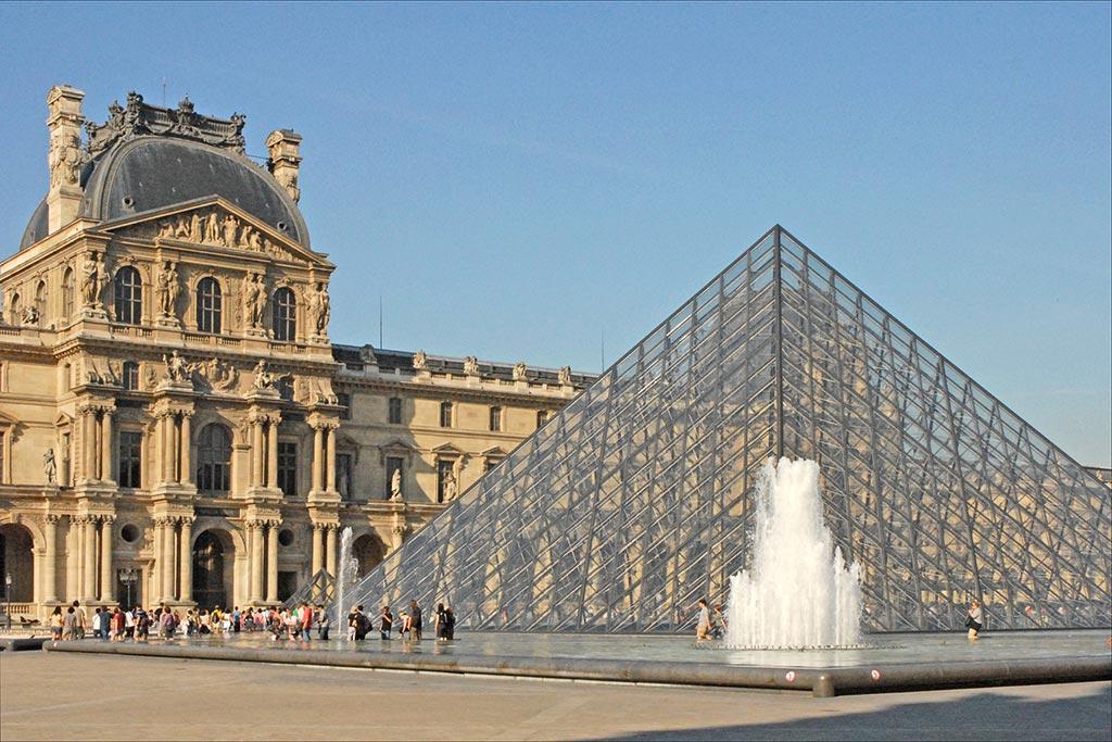 Entrée du Louvre