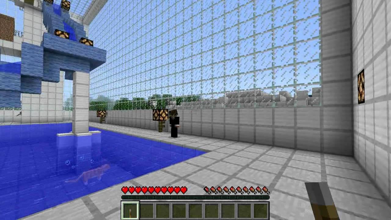 piscine minecraft