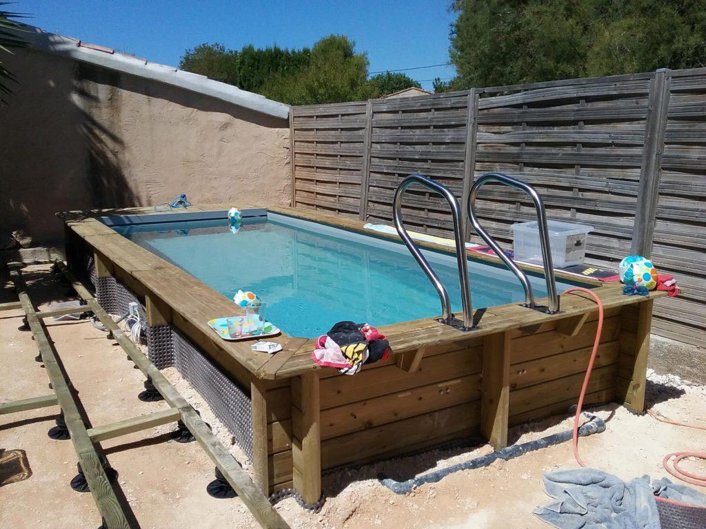 Petite piscine de jardin