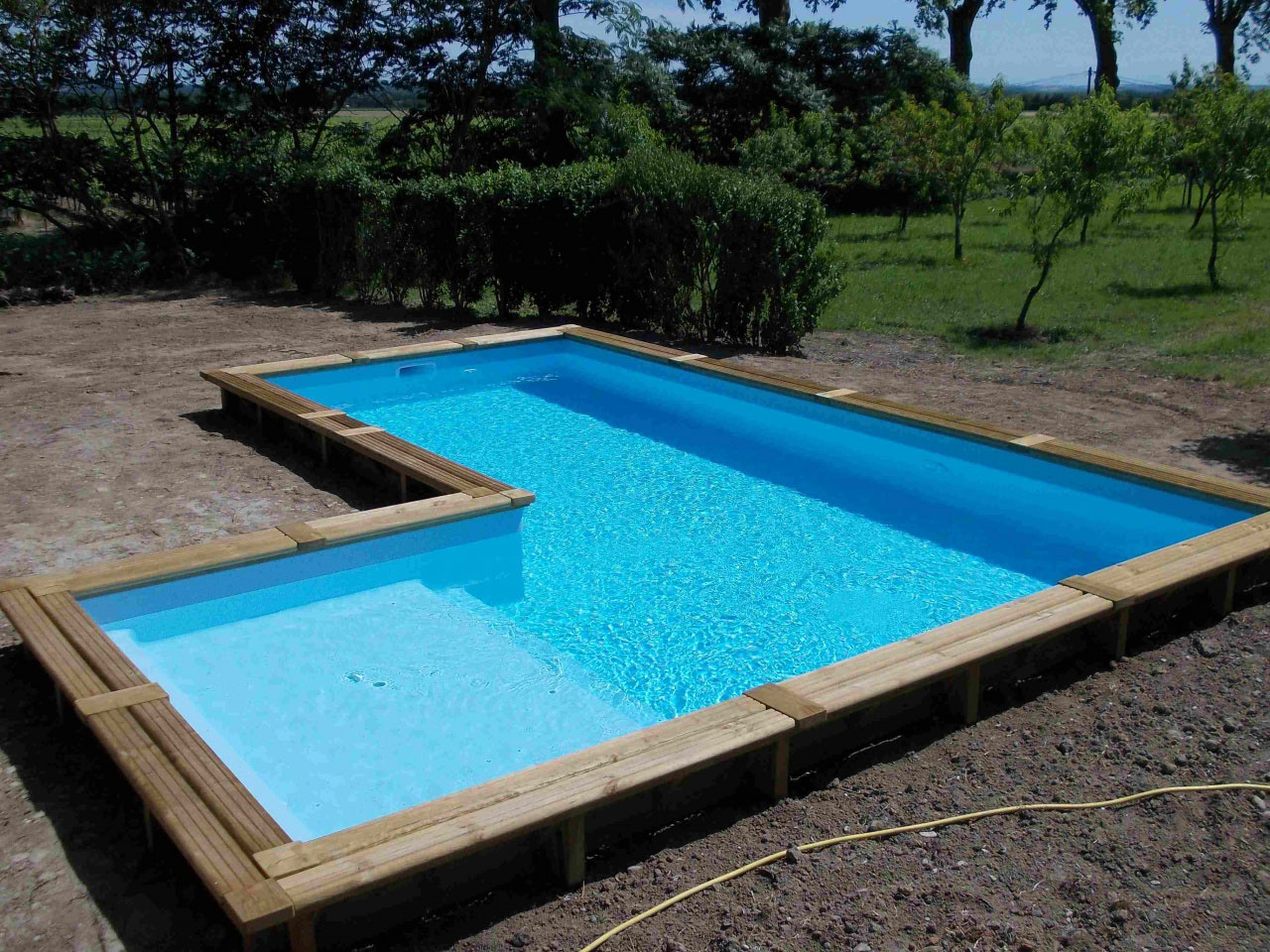 Piscine en bois promo finest piscine bois with piscine en for Promo piscine bois octogonale