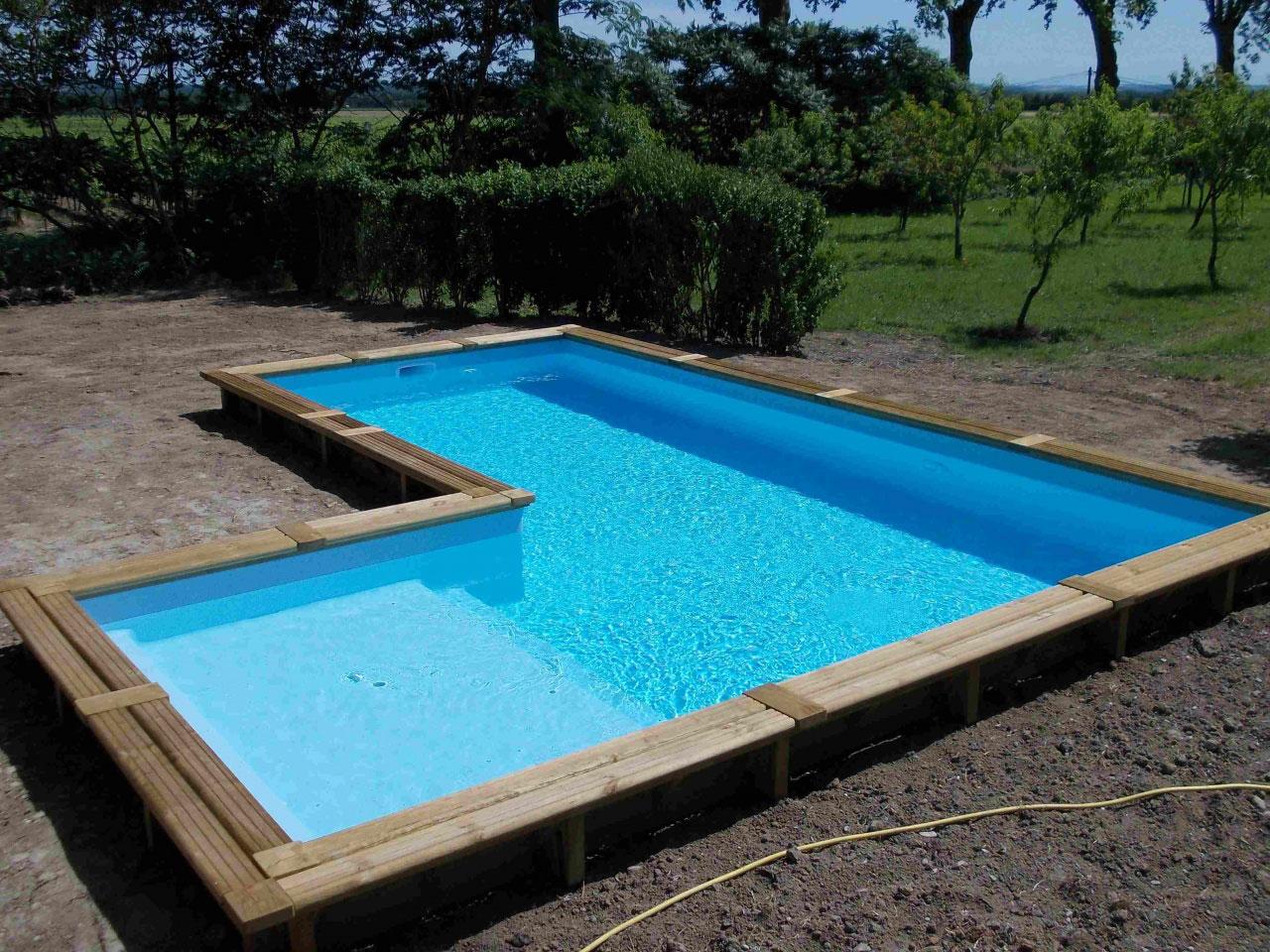 piscine bois angle
